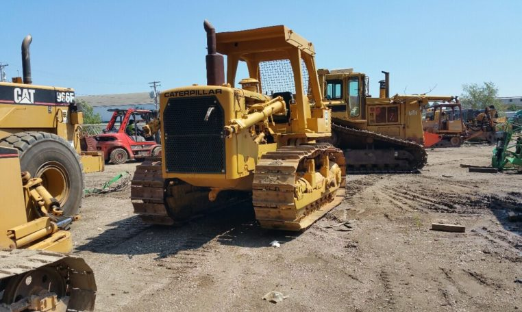 CAT D7G Bulldozer with Standard Blade - Dawood Ahmed & Co