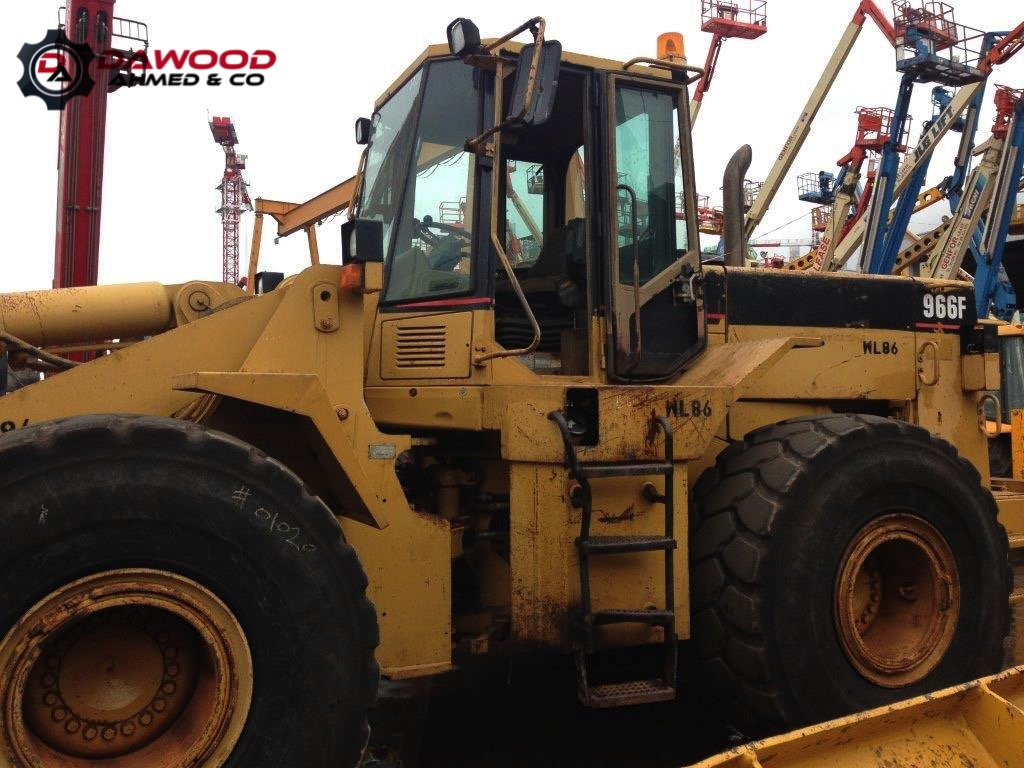 Sold. Machinery Overview. CAT 966F-II WHEEL LOADER,